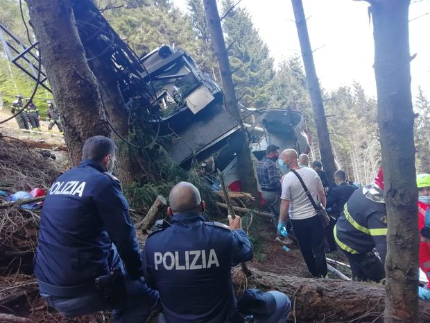 Cable Car Collapse Kills At Least 12 Near Lake Maggiore