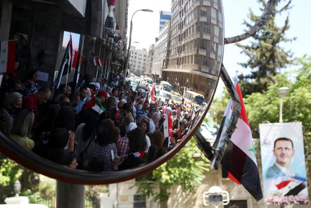Syria holds presidential elections