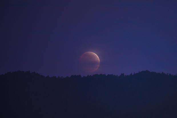 Total Lunar Eclipse at Mexico City