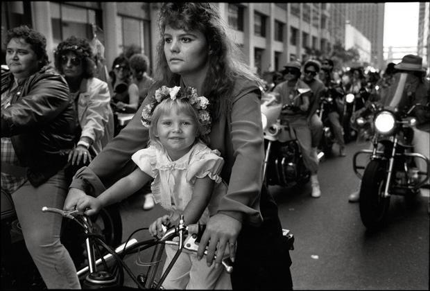 Jennifer & Mom In The International Lesbian & Gay Freedom Day Parade