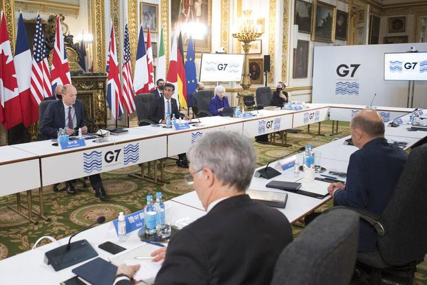 Britain G7 Meeting