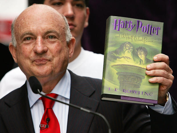 Signed Copy Of New Harry Potter Book Arrives Under Guard In New York