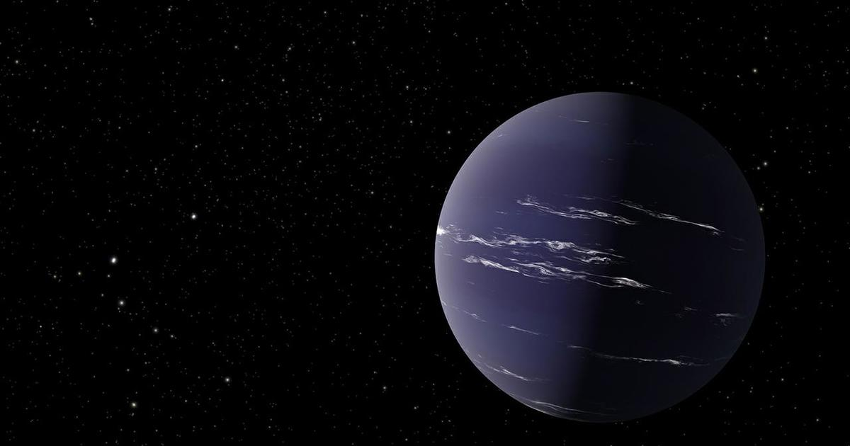 """Astronomers discover """"weird"""" Neptune-like exoplanet that could have water clouds – CBS News"""