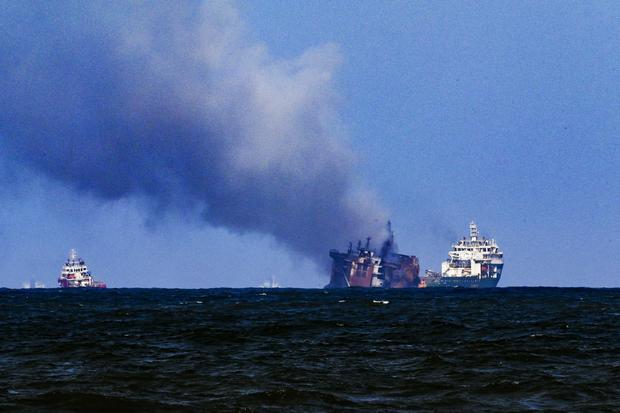 SRI LANKA-SINGAPORE-TRANSPORT-POLLUTION-FIRE-ENVIRONMENT