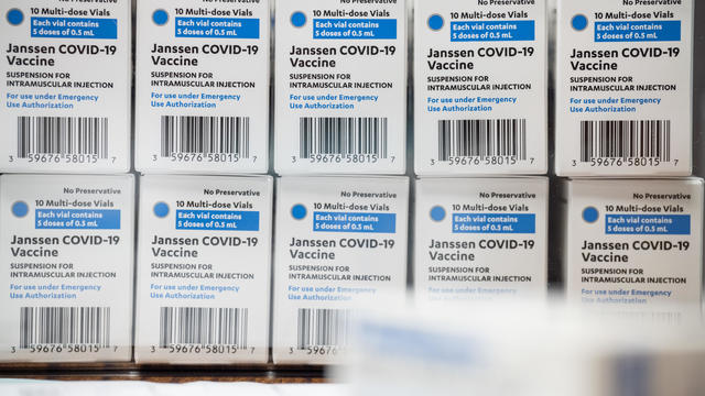 Johnson & Johnson Vaccine Rollout Continues From Kentucky