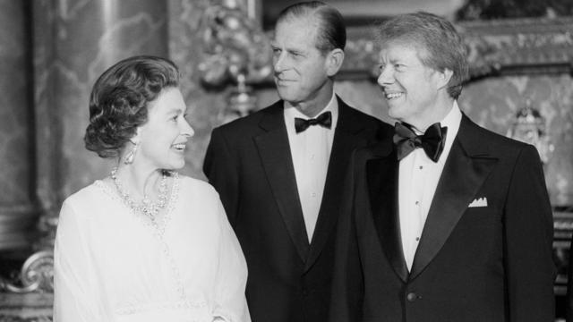 Politics - President Jimmy Carter Visit to Britain - Buckingham Palace