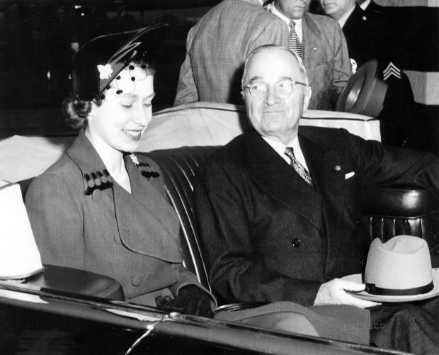 Truman And Elizabeth II