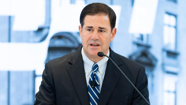 Governor Doug Ducey (R-AZ) discussing the opioid crisis and