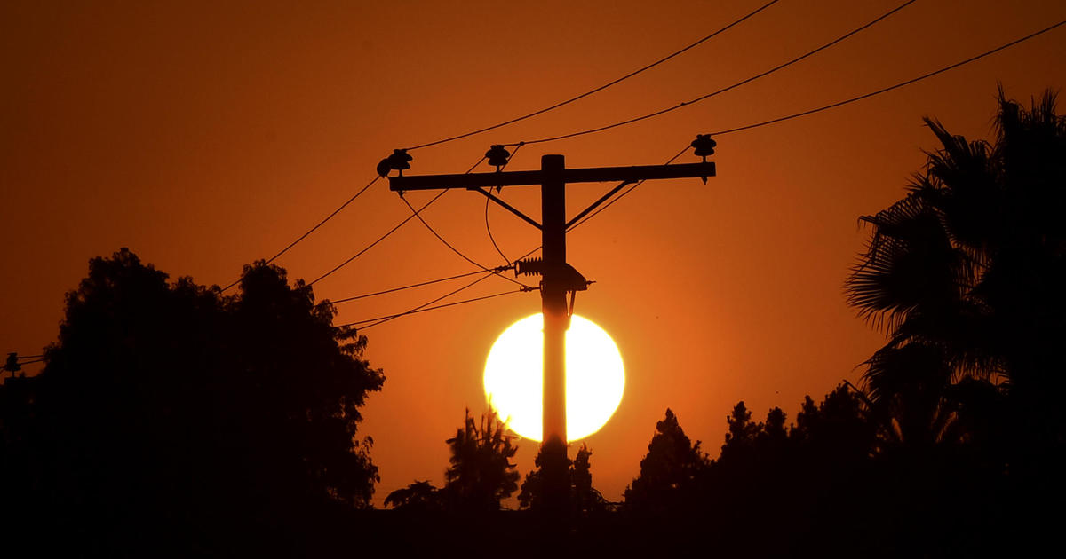 Record-breaking heat wave puts strain on states' power grids