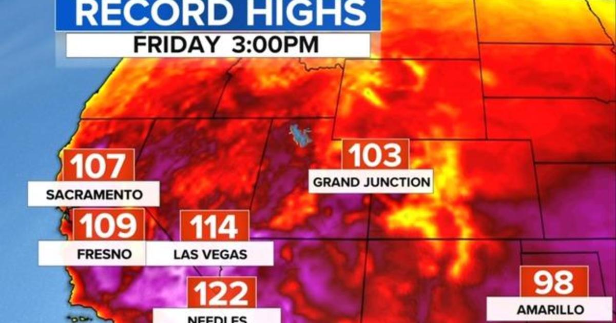 Record-breaking heat wave sweeps U.S.