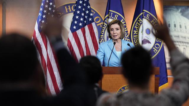 Speaker Pelosi Holds Weekly Media Availability