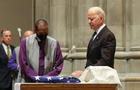 Funeral of former Senator John Warner at National Cathedral in Washington