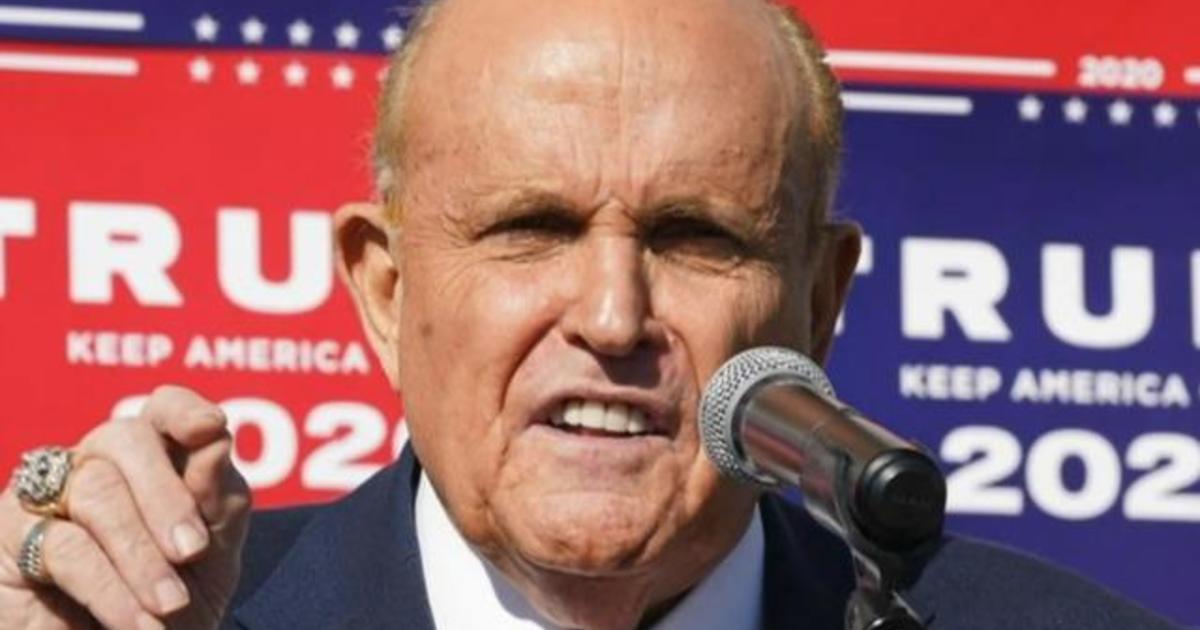 New York suspends Rudy Giuliani's law license