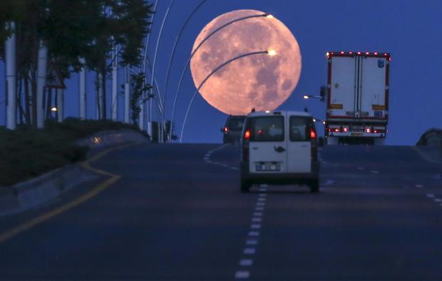 Full Moon in Ankara