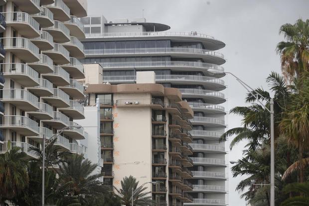 Condo Collapse in Surfside Florida near Miami