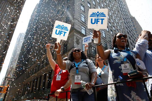 Hometown Heroes ticker tape parade in New York