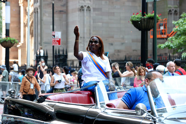 """Hometown Heroes"" Ticker Tape Parade Held In New York City"