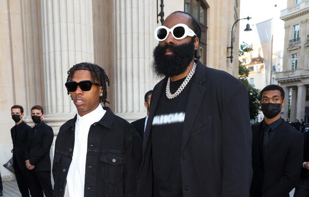 Lil Baby and James Harden