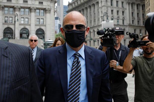 Attorney Michael Avenatti arrives for his sentencing hearing in New York