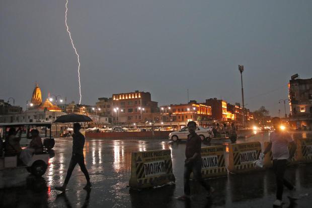 Lightning Strike In Jaipur