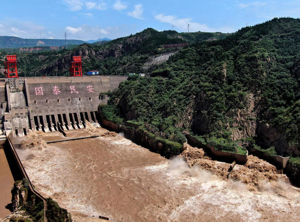 CHINA-HENAN-SANMENXIA RESERVOIR-FLOOD STORAGE CAPACITY (CN)