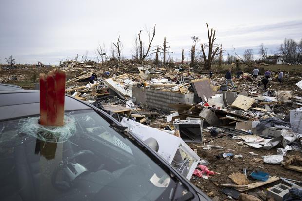 22 Dead As Tornadoes Roar Across Tennessee, Including Nashville