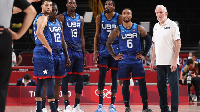 JPN: United States v France Men's Basketball - Olympics: Day 2