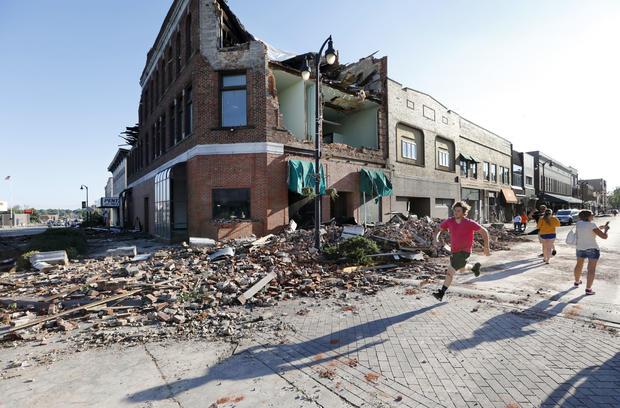 APTOPIX Tornadoes Iowa
