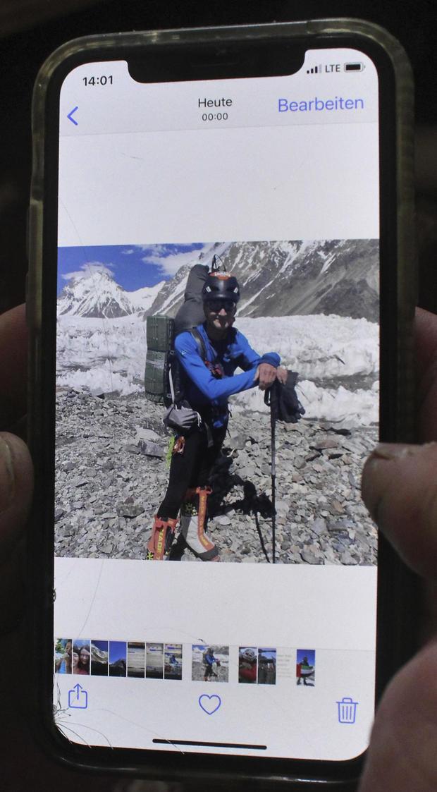 Pakistan Scottish Climber