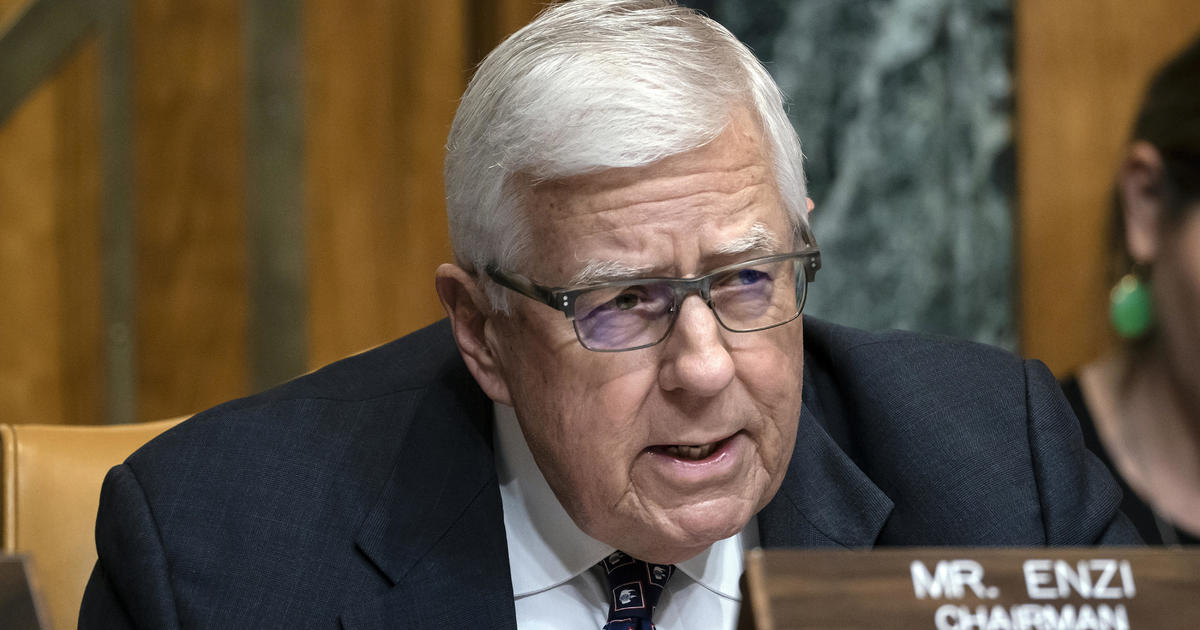 Ex-Senator Mike Enzi of Wyoming dies at 77 after bicycle accident