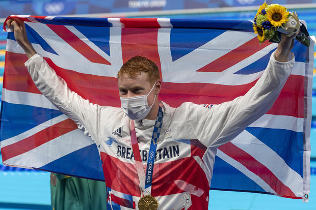 Swimmer beats COVID twice to win gold at Tokyo Olympics