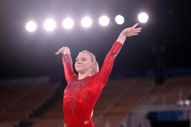Meet Jade Carey, Simone Biles' replacement in the all-around final