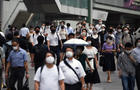 Daily Life in Tokyo as Virus Cases Leap to New Record Amid Olympics