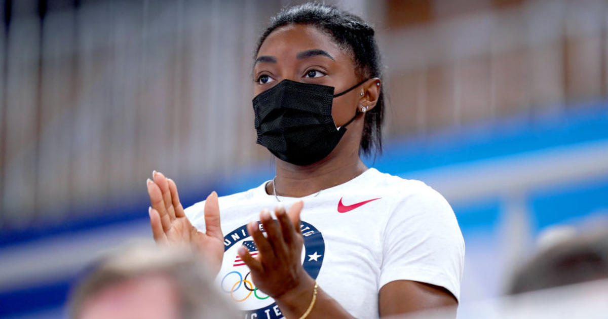 Simone Biles plans to compete in balance beam final in Tokyo - CBS News