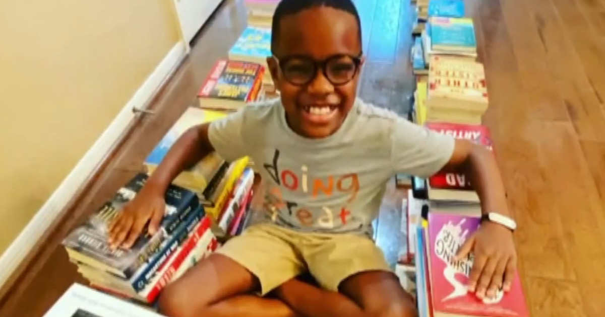 Boy on a mission to share his love of reading with thousands of others