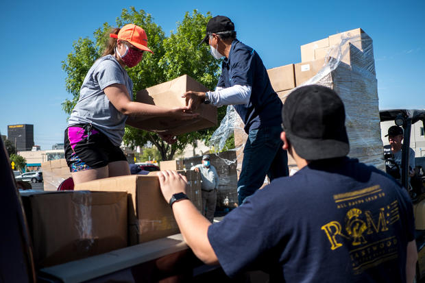 U.S. Food Bank Operations Strained Amid Pandemic