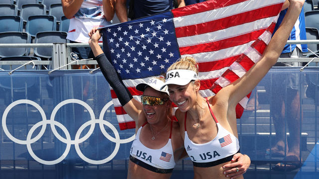 Beach Volleyball - Olympics: Day 14