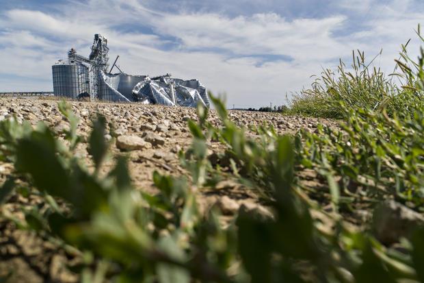 Powerful Derecho Causes Widespread Damage Across Iowa Farmland