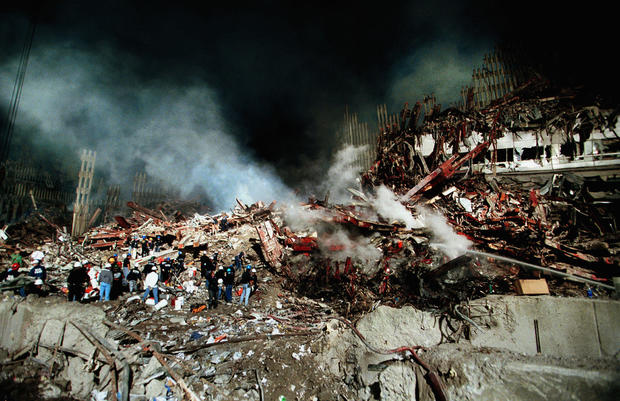 Aftermath Of WTC Attacks