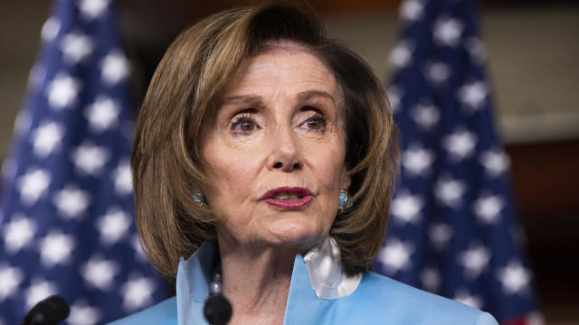 Speaker Pelosi holds Bill Enrollment Ceremony For Those Who Protected the U.S. Capitol on January 6 - Isu Akhir Pekan CBS, 8 Agustus 2021