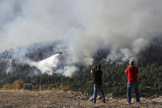 Wildfire in Greeceâââââââ