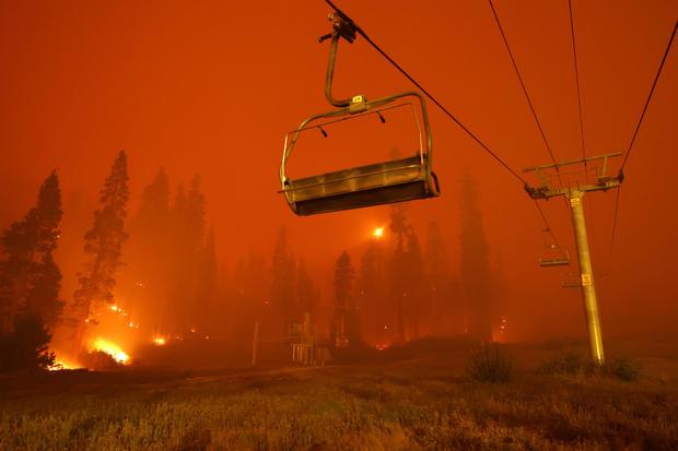 Caldor Fire Lake Tahoe