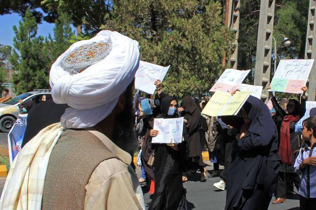 TOPSHOT-AFGHANISTAN-CONFLICT-WOMEN