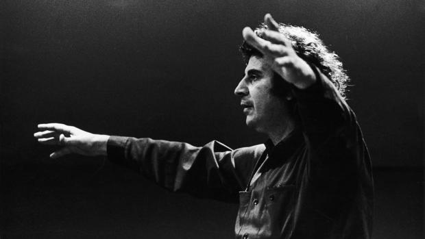 The Greek Composer And Politician Mikis Theodorakis In 1970 -