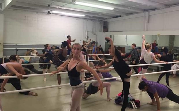 Benefield ballet studio