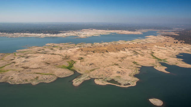 Extreme Drought Drops Reservoir Water Levels