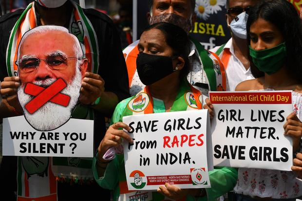 INDIA-CRIME-ASSAULT-PROTEST