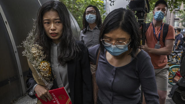 Landmark #MeToo Case Returns To Court In China