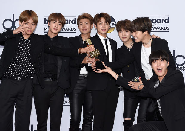 K-pop music group BTS