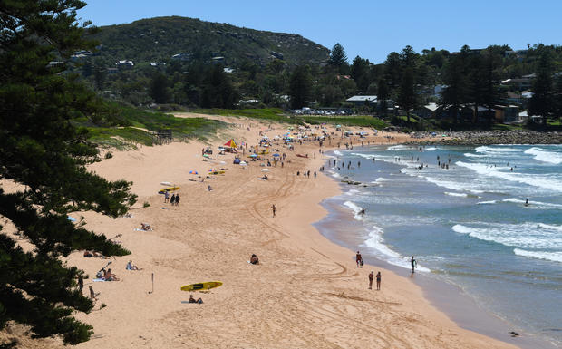 Sydney's Northern Beaches Open Up After Lockdown
